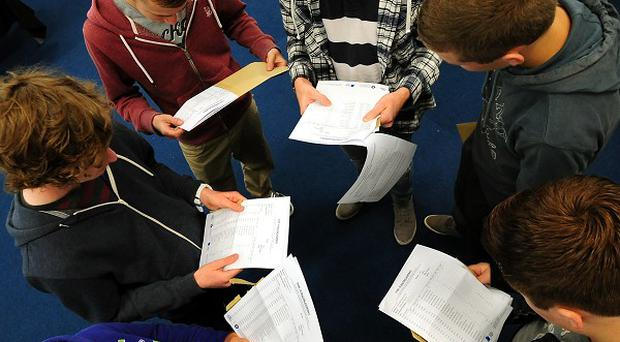 The proportion of GCSEs awarded a C grade or above fell for the first time in 24 years