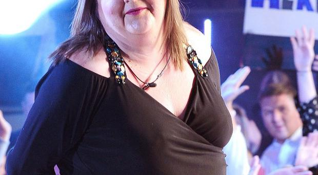 Cheryl Fergison leaves the Celebrity Big Brother House