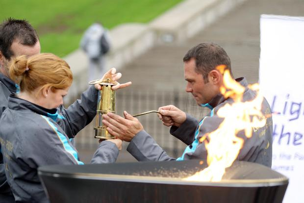 Paralympic Flame celebrations at Stormont