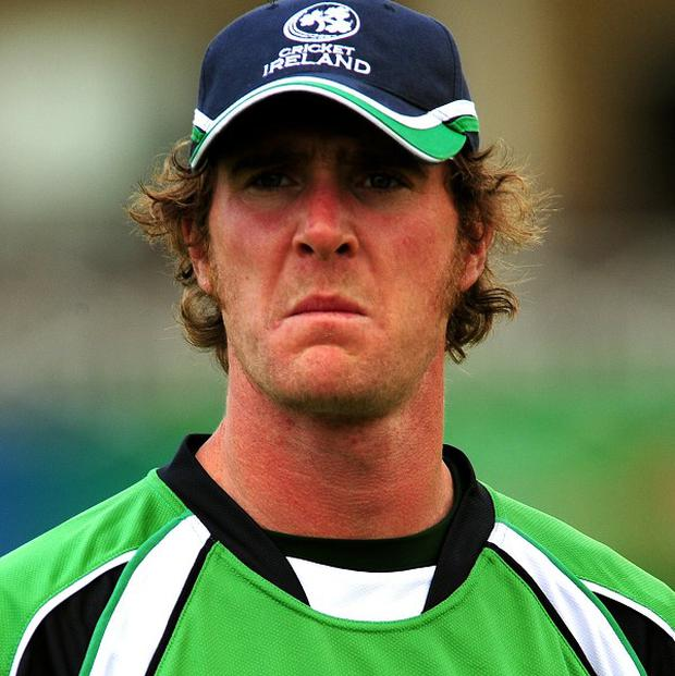 John Mooney has been ruled out of the World Twenty20 due to a finger injury