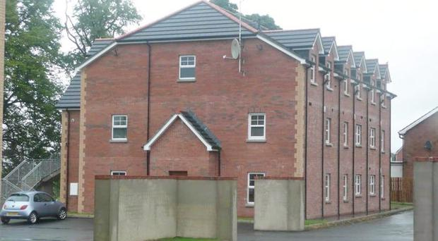 Property owned by Nama. Dunluce Apartment, Lisburn