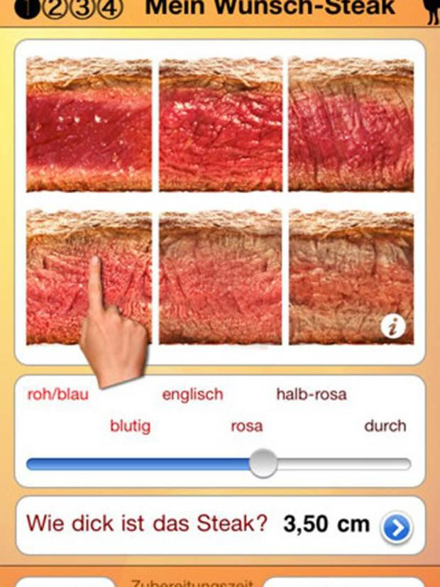 <b>1. Steak Master, £1.19, iOS</b> Know how you like your steak in a restaurant, but can't replicate it at home? This lets choose your cooking method, enter the steak's thickness and get a great result.
