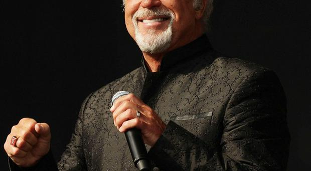Sir Tom Jones dazzled the crowd at the Belsonic music festival in Belfast