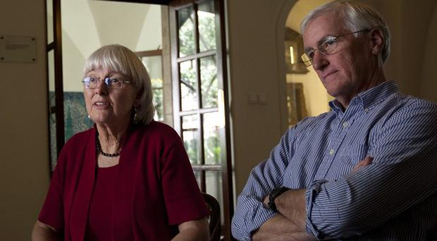 Craig and Cindy Corrie's daughter Rachel Corrie was killed by an Israeli army bulldozer in the Gaza Strip (AP)