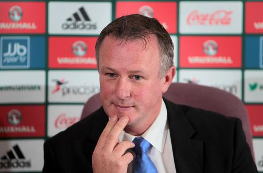 Northern Ireland manager Michael O'Neill names his 23 man squad ahead of the team's games against Russia in Moscow and Luxembourg in Belfast