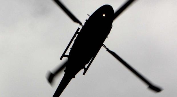 Military helicopters have dropped leaflets over Damascus urging rebels to give up their weapons