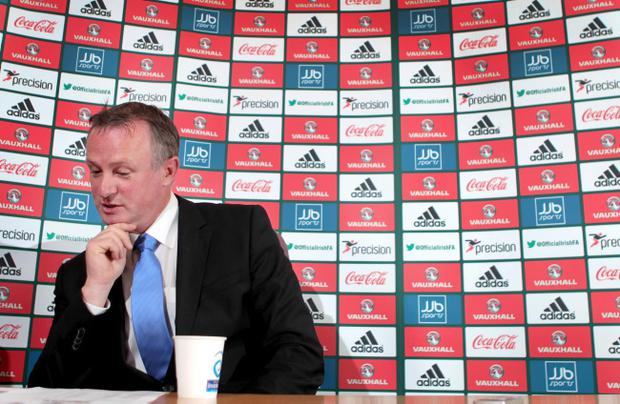Northern Ireland manager Michael O'Neill has said qualification for the 2014 World Cup remains a dream