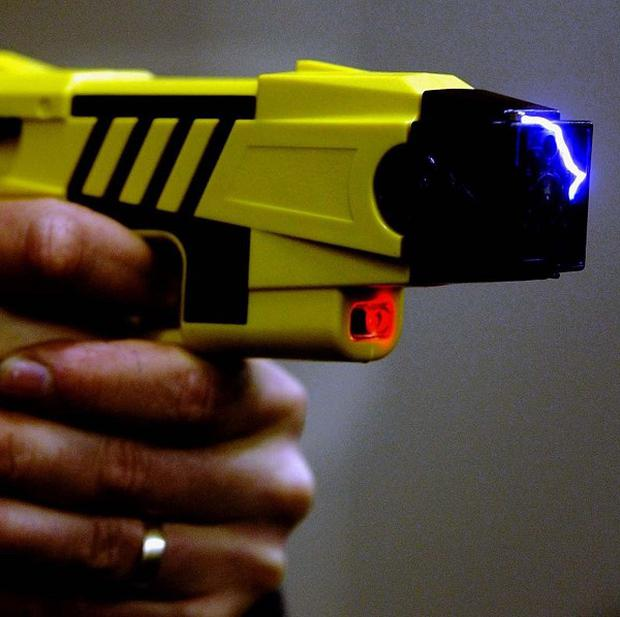 Police used a taser to restrain the youth