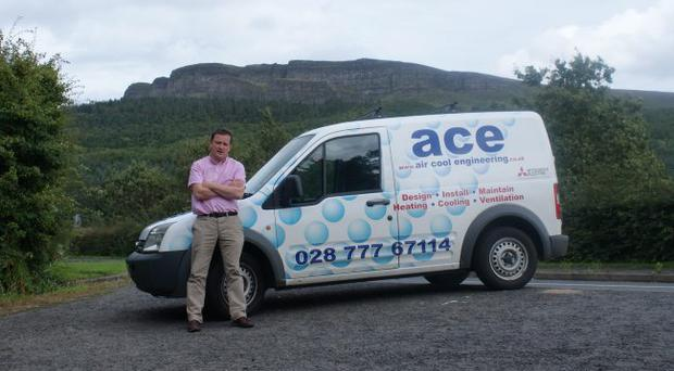 Martin Mullen has built up his company from working in a room in his house to employing 19 people