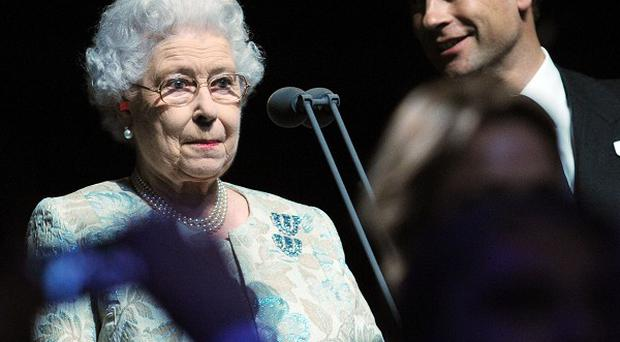 The Queen officially opens the the London Paralympic Games 2012 during the opening ceremony at the Olympic Stadium