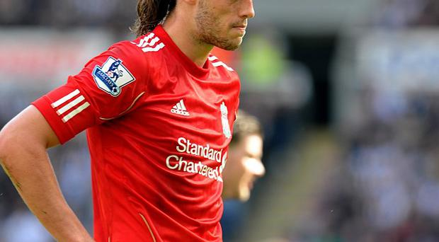 Andy Carroll has scored six goals in 44 Premier League appearances for Liverpool