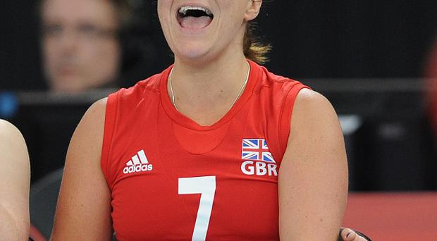 Martine Wright was chosen to represent Britain at the Paralympics in the sitting volleyball team