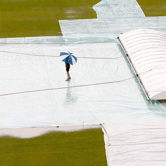 Rain has curtailed the series between Ireland and South Africa A