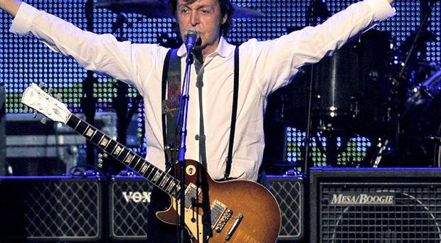 Sir Paul McCartney will play on an 1877 Steinway grand piano he discovered and had refurbished