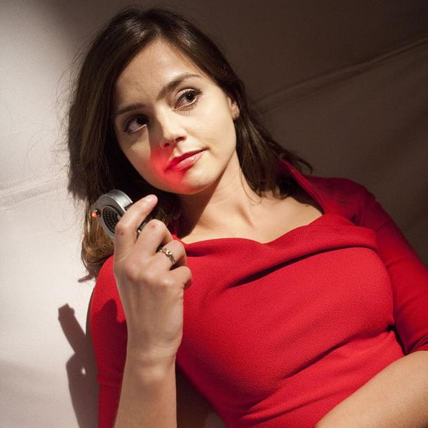 Doctor Who's new assistant Jenna-Louise Coleman who made a surprise early appearance in the first episode of the new series (BBC)