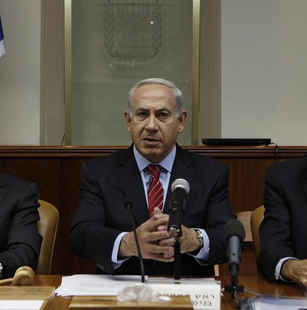 Israel's Prime Minister Benjamin Netanyahu is urging the international community to get tougher against Iran