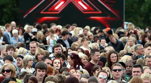 The X Factor has pulled in its lowest audience of the series, overnight ratings showed