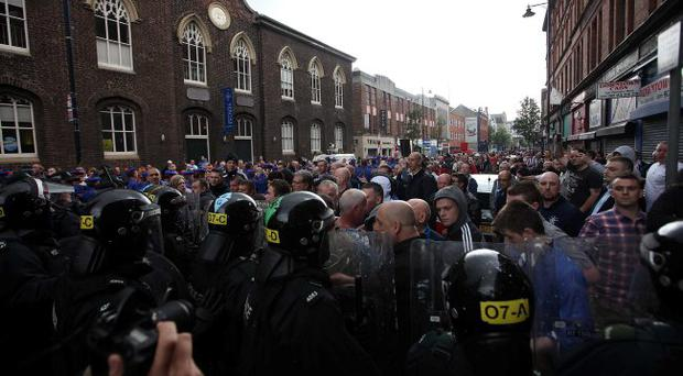 Bad image: disturbances on Donegall Street show the need for politicians like Peter Robinson to demonstrate leadership