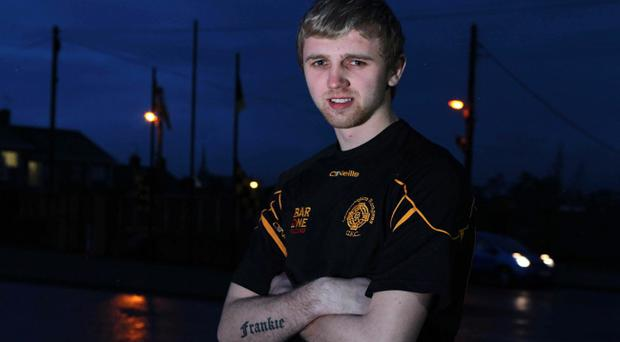 Crossmaglen Rangers' Franny Hanratty is bound for a new life in Australia