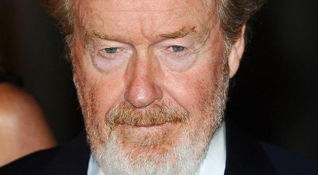 Ridley Scott is back at work on The Counsellor