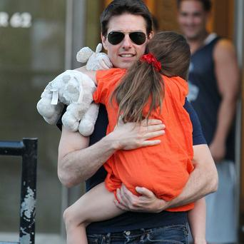 Tom Cruise and daughter Suri