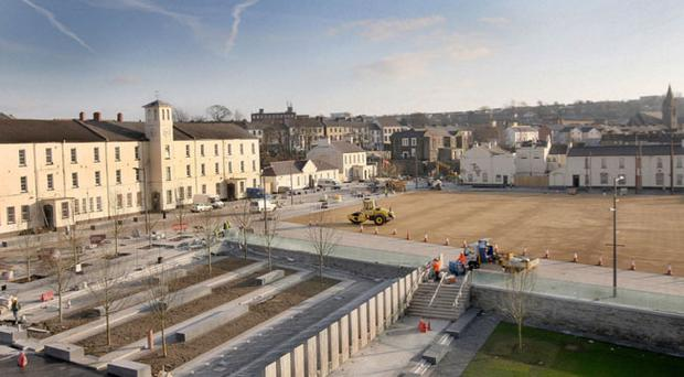 Doubts have been cast over the future of sites like Ebrington