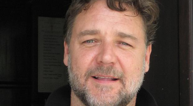 Russell Crowe is on Long Island filming his new movie Noah
