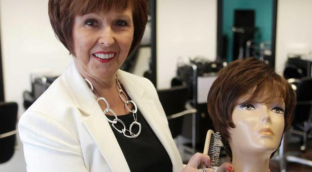 Patricia Strong in her Amazon salon in Ballygowan
