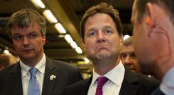 Nick Clegg's Liberal Democrats can hope to enjoy a couple more years in government 'before another 70 years off'