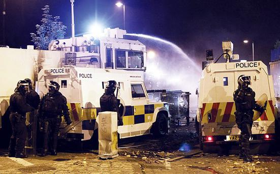 Under pressure: the north Belfast riots needed earlier intervention from Martin McGuinness and Peter Robinson