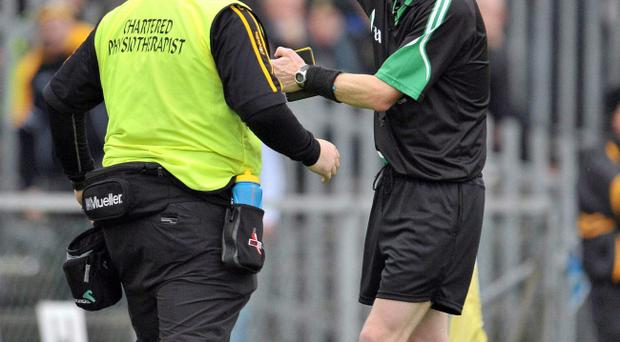 Referee Joe McQuillan made several mistakes