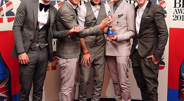 One Direction finished third on the 2010 series of The X Factor