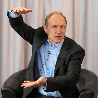 Web inventor Sir Tim Berners-Lee has denied the internet has an 'off-switch'
