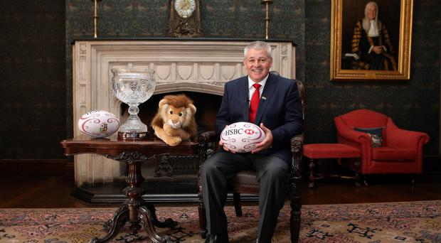 LONDON, ENGLAND - SEPTEMBER 04: Warren Gatland, who has been appointed head coach of the British and Irish Lions for the tour to Australia in 2013 poses at Ironmonger's Hall on September 4, 2012 in London, England. (Photo by David Rogers/Getty Images)