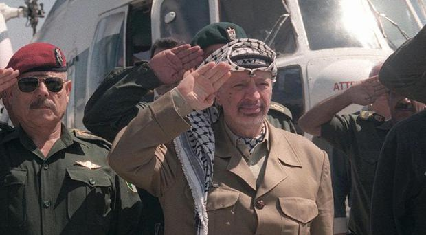 The widow of Yasser Arafat says that French investigators will soon visit the West Bank to dig up the remains of her husband (AP)