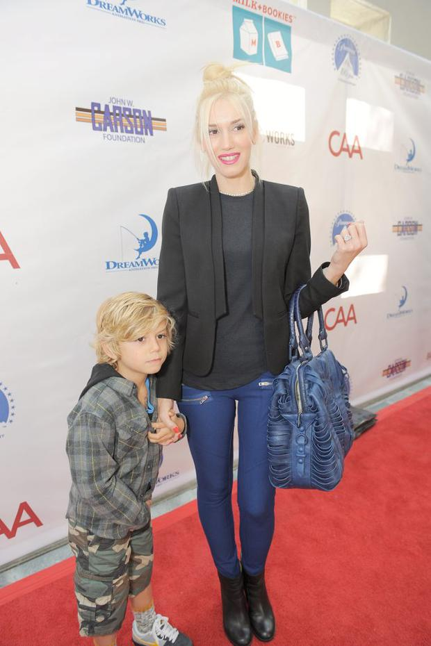 Busy mum: but Gwen seems to have work/life balance sorted