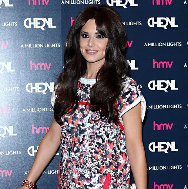Cheryl Cole reassured fans she was fine after the crash