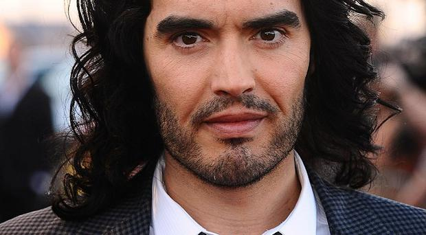 Russell Brand begged fans not to ask him about Geri Halliwell