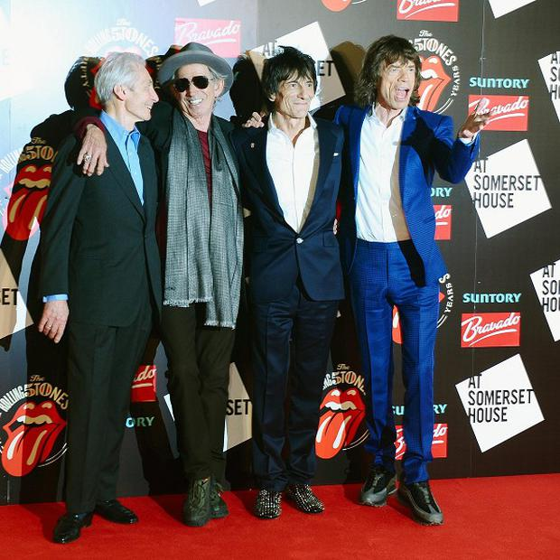 A film about The Rolling Stones will be included in this year's London Film Festival line-up