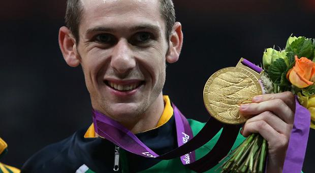 Michael McKillop claimed his second gold of the 2012 Paralympics in the T37 1500 metres