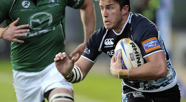 DTH van der Merwe, right, will start on Friday for Glasgow