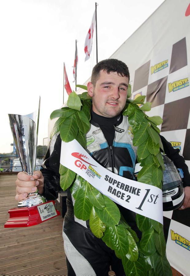 Man to catch: Michael Dunlop