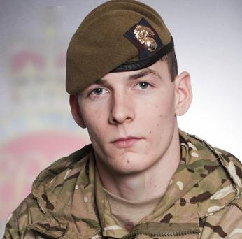 Guardsman Karl Whittle died from wounds suffered during fighting in Afghanistan