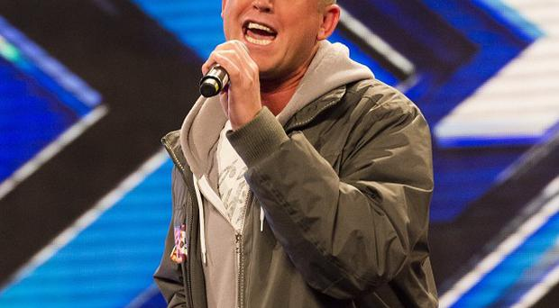 Christopher overcame his fears to audition for The X Factor