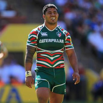 Manu Tuilagi scored a brace of tries for Leicester