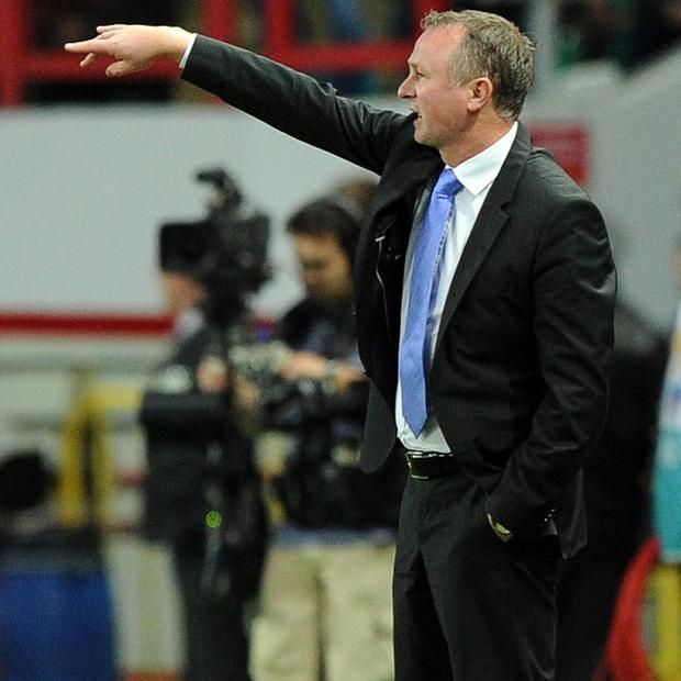 Michael O'Neill felt that Northern Ireland wetre unlucky to concede a penalty