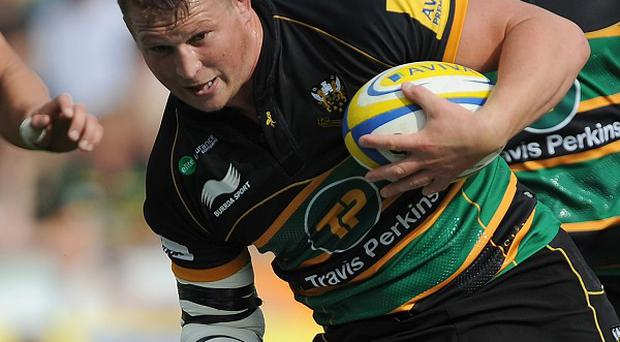 Dylan Hartley scored a try as Northampton beat Exeter