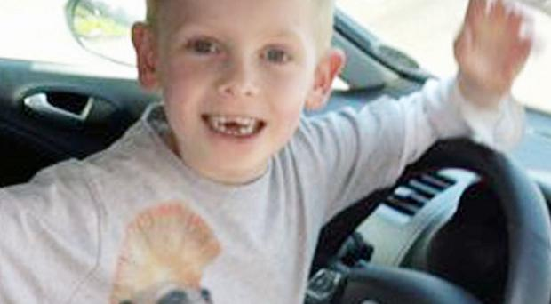 Luke Jenkins, seven, of St Mellons, Cardiff, south Wales, who died in hospital (Family Handout/PA)