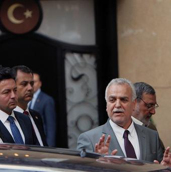 Iraq's vice president Tariq al-Hashemi has been found guilty of running death squads against security forces and Shiites (AP)