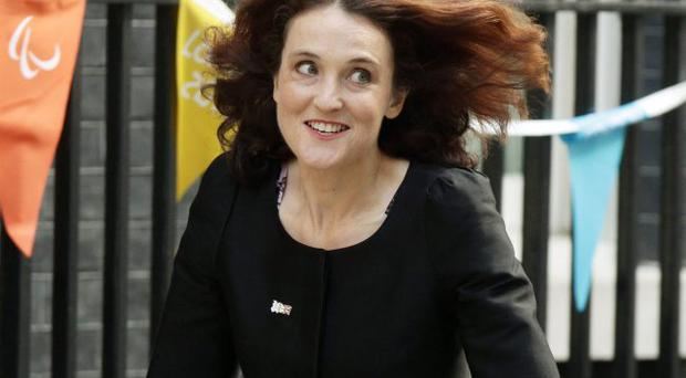 Groundhog day: Theresa Villiers will be met with problems such as the riots at Carlisle Circus last week
